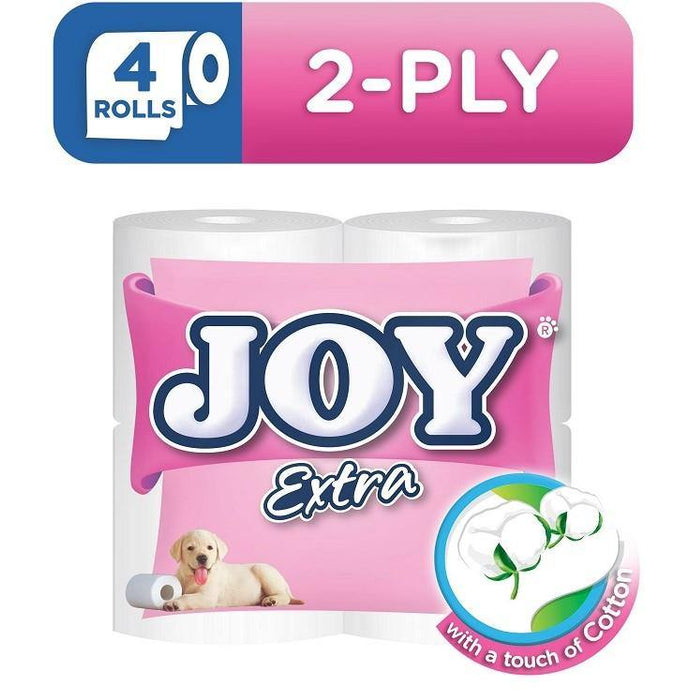 Joy Extra Bathroom Tissue 2 Ply 170 Sheets 4S
