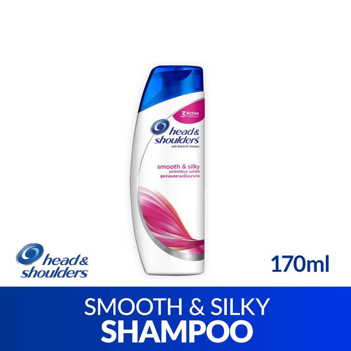 Head and Shoulders Anti-Dandruff Shampoo Smooth and Silky 170ML