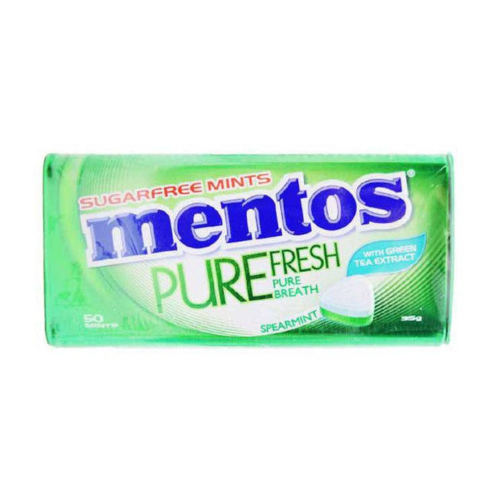 Mentos PureFresh Spearmint in Tin Can 35g