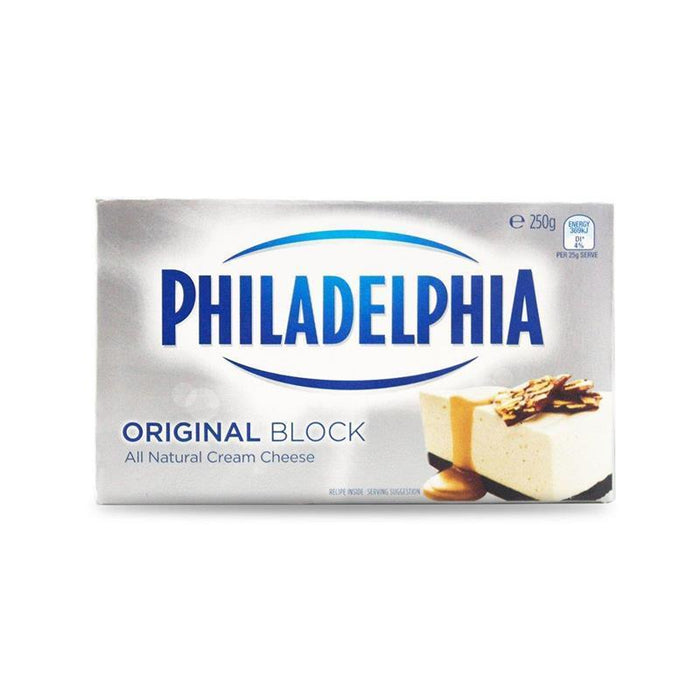 Philadelphia Cream Cheese Block Original 250G