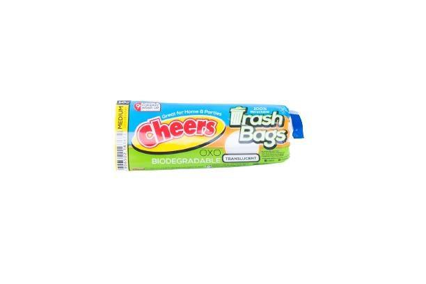 Cheers Translucent Trash Bag Medium 10S