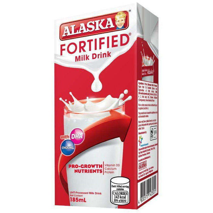 Alaska Fortified Ready-to-Drink Milk 185ML