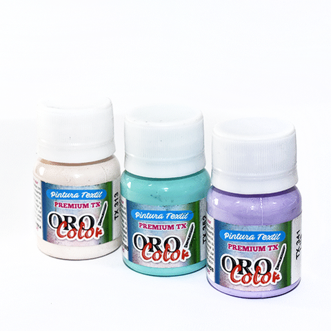 Pintura para Tela Género Oro color 30ml
