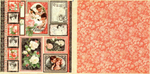 Lámina Graphic 45 Doble 30x30cm Scrapbooking USA - Mon Amour 3