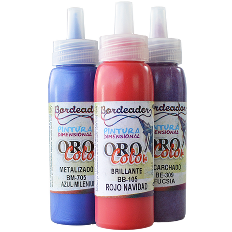 Pintura Dimensional Oro Color 60ml Delineador