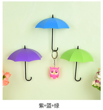 Load image into Gallery viewer, Umbrella Key Hangers | Gold Atalanta