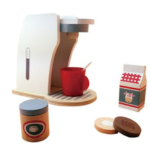 Load image into Gallery viewer, Wooden Breakfast Coffee Toy Set | Ivory Max