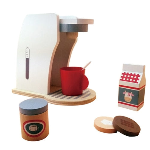 Wooden Breakfast Coffee Toy Set | Ivory Max