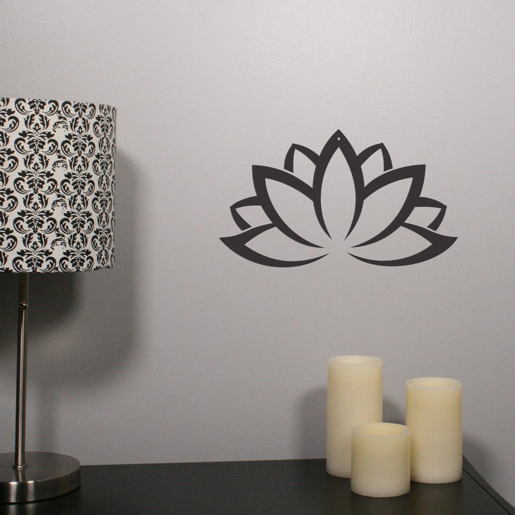 Lotus Flower - Metal Wall Art/Decor | Canis Minor