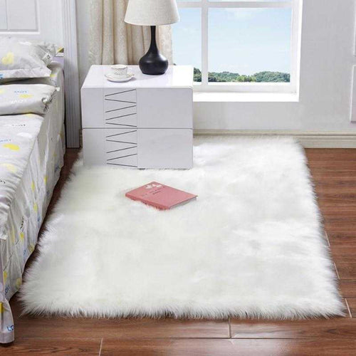 Soft Fluffy Area Rug | Variscite