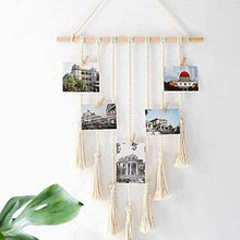 Load image into Gallery viewer, Hanging Woven Photo Rope | Variscite