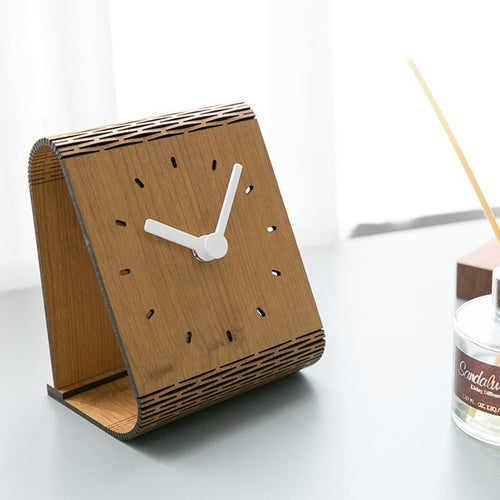 Bent Wood Clock II | Fuchsia Molly