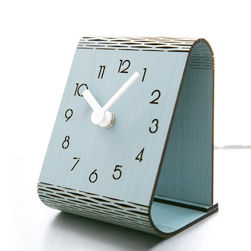 Bent Wood Clock I | Fuchsia Molly