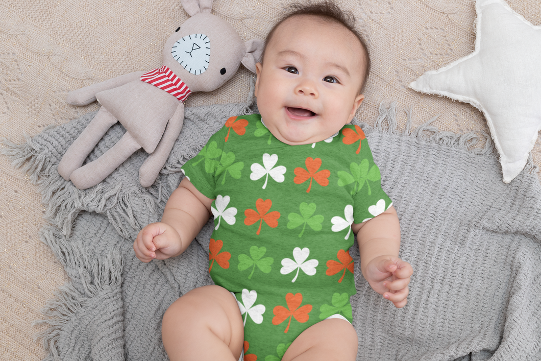 Irish Pride Onesie for St Patrick's Day | Orange Poppy