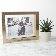 Load image into Gallery viewer, Personalised Metallic Photo Frame | petit quelque chose
