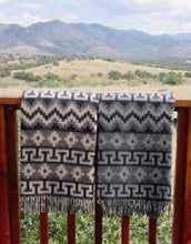 Load image into Gallery viewer, Peruvian Traditional Geometric Alpaca Throw | petit quelque chose