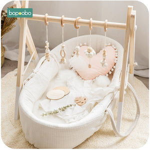 Wooden Nordic Style Play Gym | Petit quelque chose