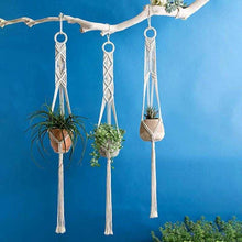 Load image into Gallery viewer, Handmade Macrame Plant Hanger | Petit quelque chose