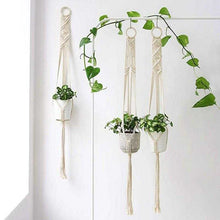 Load image into Gallery viewer, Handmade Macrame Plant Hanger - Various Styles | Petit quelque chose