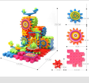3D Gears Building Block Set | Petit quelque chose