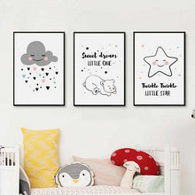 Load image into Gallery viewer, Simple Canvas Prints For The Nursery | Petit quelque chose