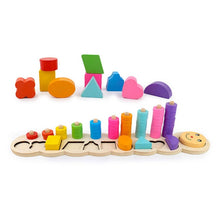 Load image into Gallery viewer, Wooden Toy Developmental Puzzles | Petit quelque chose