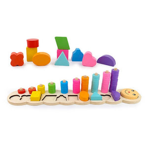 Wooden Toy Developmental Puzzles | Petit quelque chose