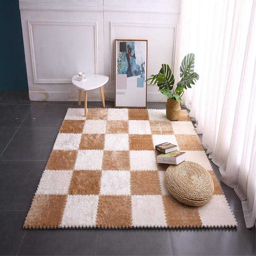 Interlocking Puzzle Carpet Mat - Various Colours | Petit quelque chose