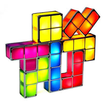 Load image into Gallery viewer, Tetris Puzzle Novelty LED Night Light | Petit quelque chose
