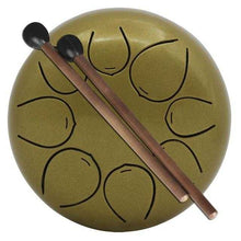 Load image into Gallery viewer, 5 inch Steel Tongue Drum 8 Tone G Tune | Petit quelque chose