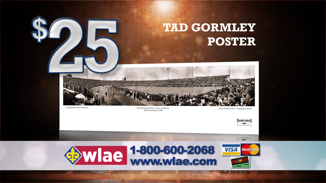 Tad Gormley Stadium Poster