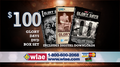 Glory Days Part III - $100 Combo Pack
