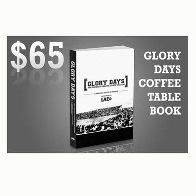 Glory Days Coffee Table Book