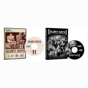 Glory Days I & Glory Days II DVDs