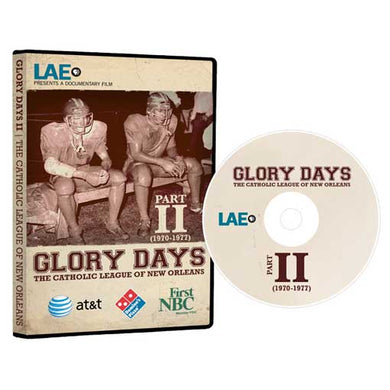 Glory Days II DVD - $50