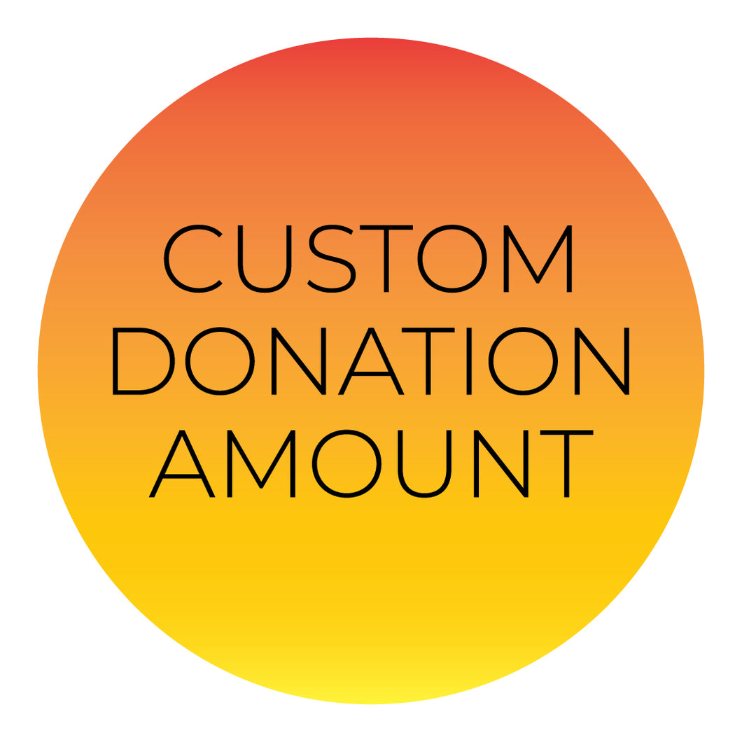 Custom Donation Amount