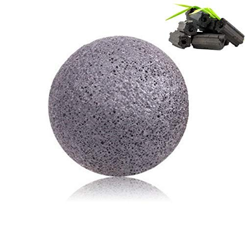 Original Konjac Sponge Set - 100% Organic & Natural Skincare Exfoliating Bath Sponges for Face & Body Cleansing - Pure Facial & Hypoallergenic 5 Pack - Green Tea, Wild Mint, Cherry, Citrus & Charcoal