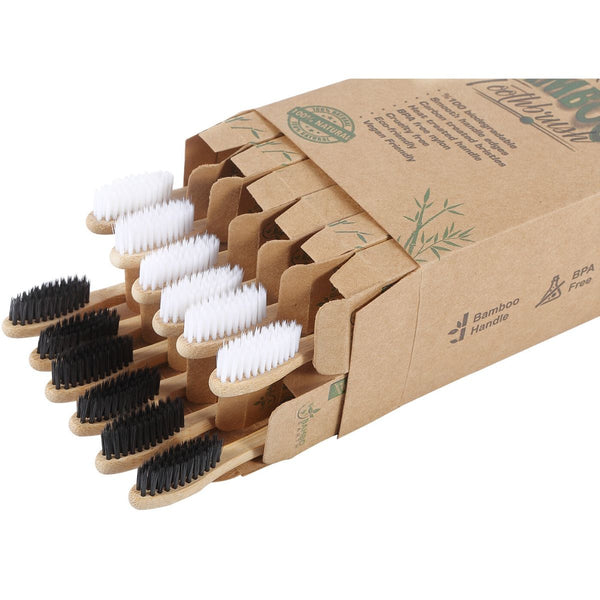 Bamboo Toothbrush 12 Pack