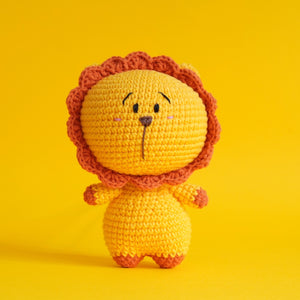 Leo The Lion (Free Patterns)