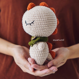 Spike The Dinosaur (Free Pattern)