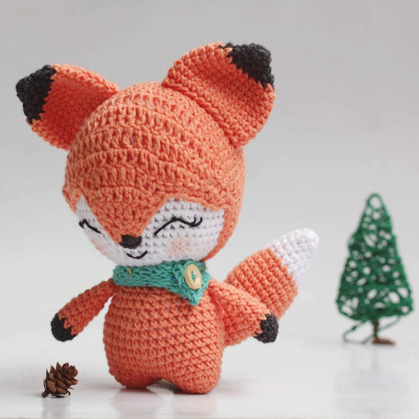 Penny The Fox (Free Pattern)