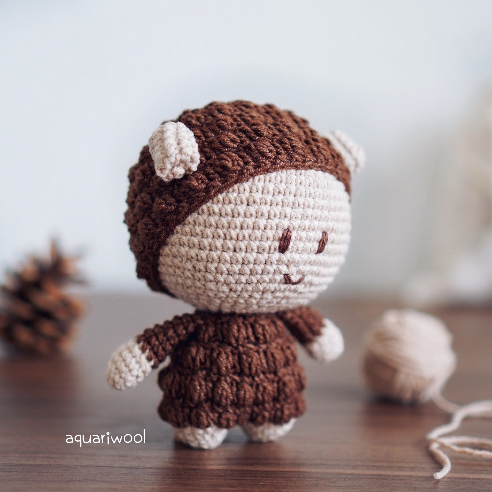 Espresso The Sheep (Free Pattern)