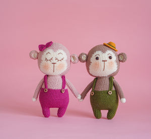 Valentine The Monkey Couple