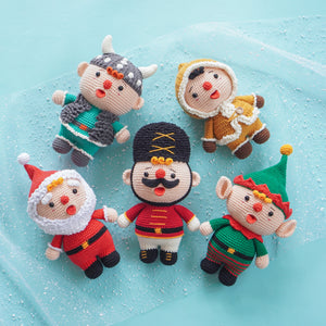 Combo 5 in 1: Tin Soldier, Elf, Santa, Eskimo & Viking Boy