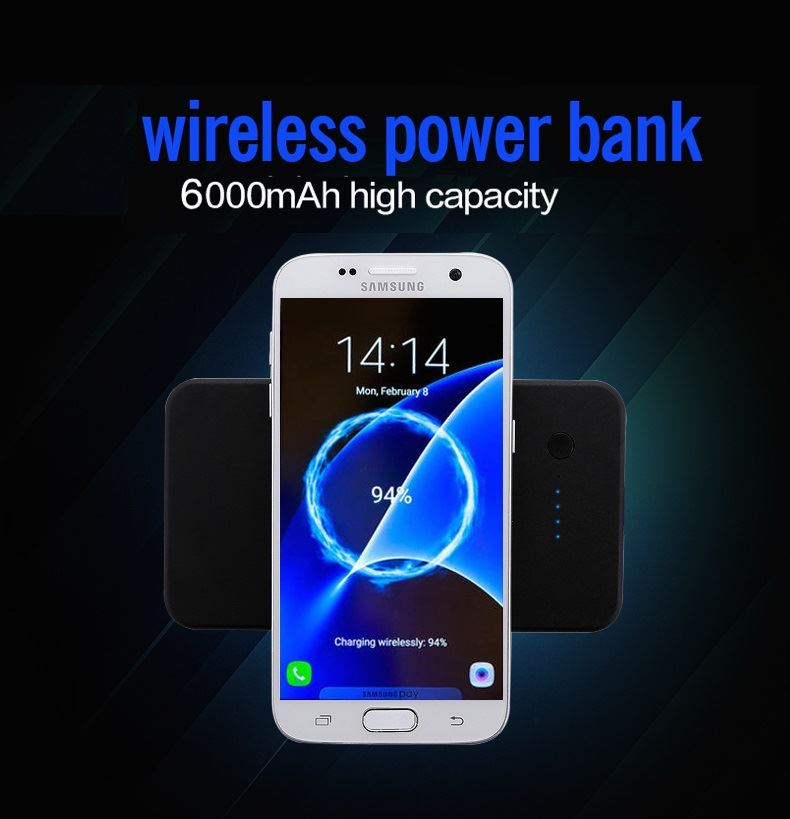 Qi Charger and Power Bank (2 in 1) 6000 mAh Using The Latest Technology - smrt-life.com