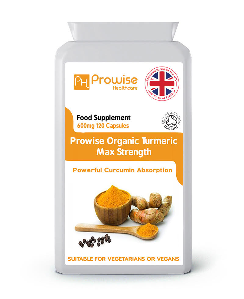 Organic Turmeric Suitable For Vegetarians and Vegans Made In UK - smrt-life.com