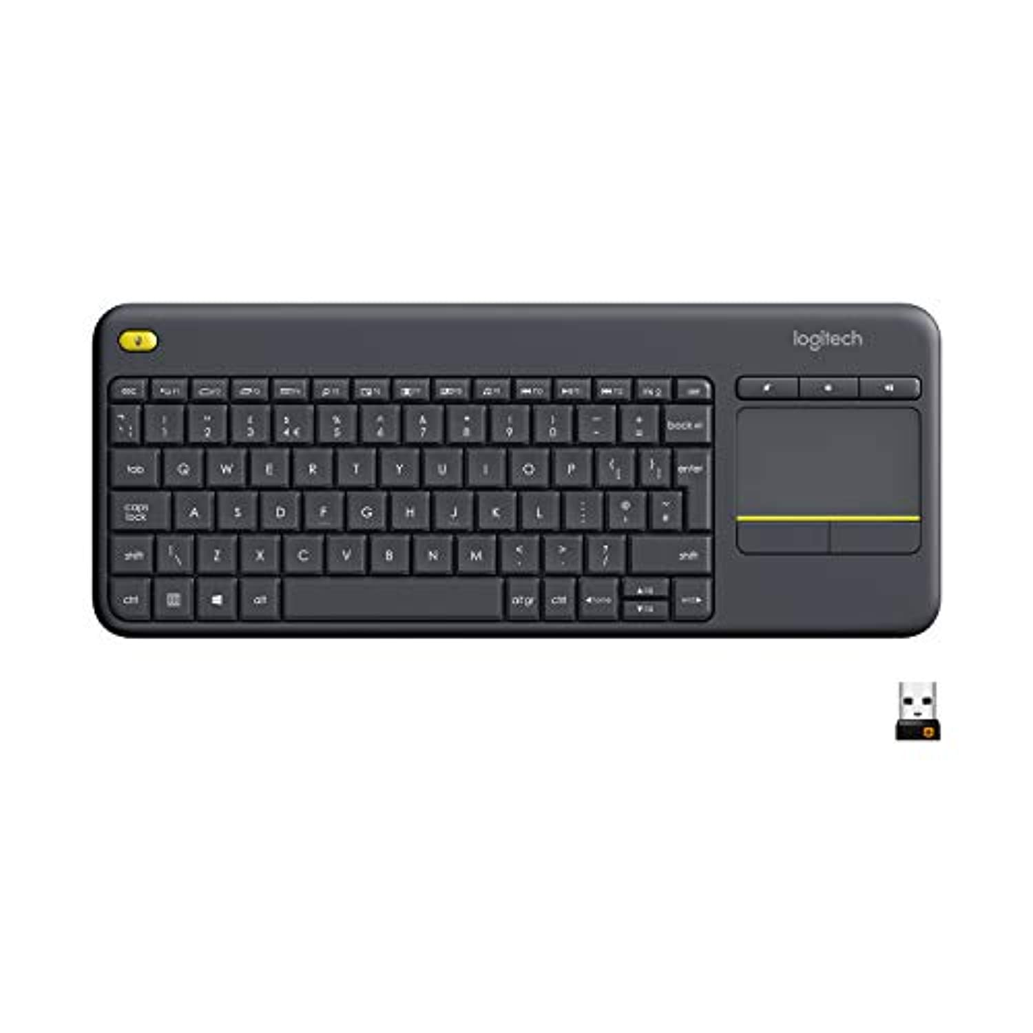 Logitech K400 Plus Wireless Livingroom Keyboard with Touchpad - smrt-life.com