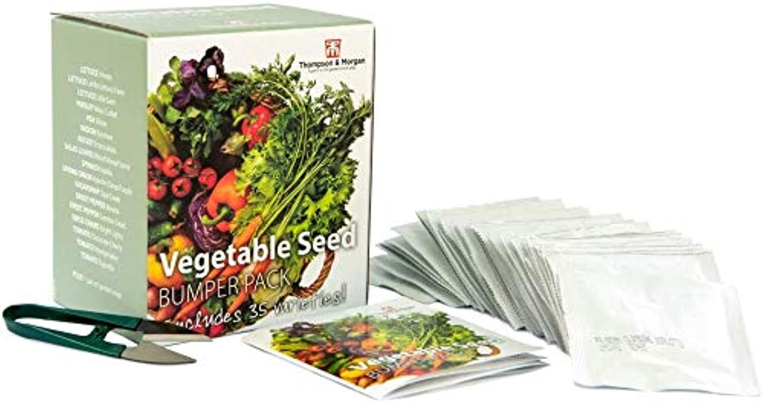 Vegetable Seed Collection Bumper Pack Includes 35 Different Varieties - smrt-life.com