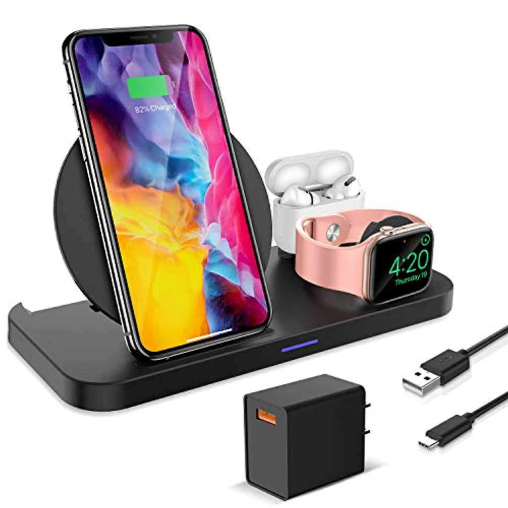 3 in 1 Wireless Charger for Apple Devices - smrt-life.com