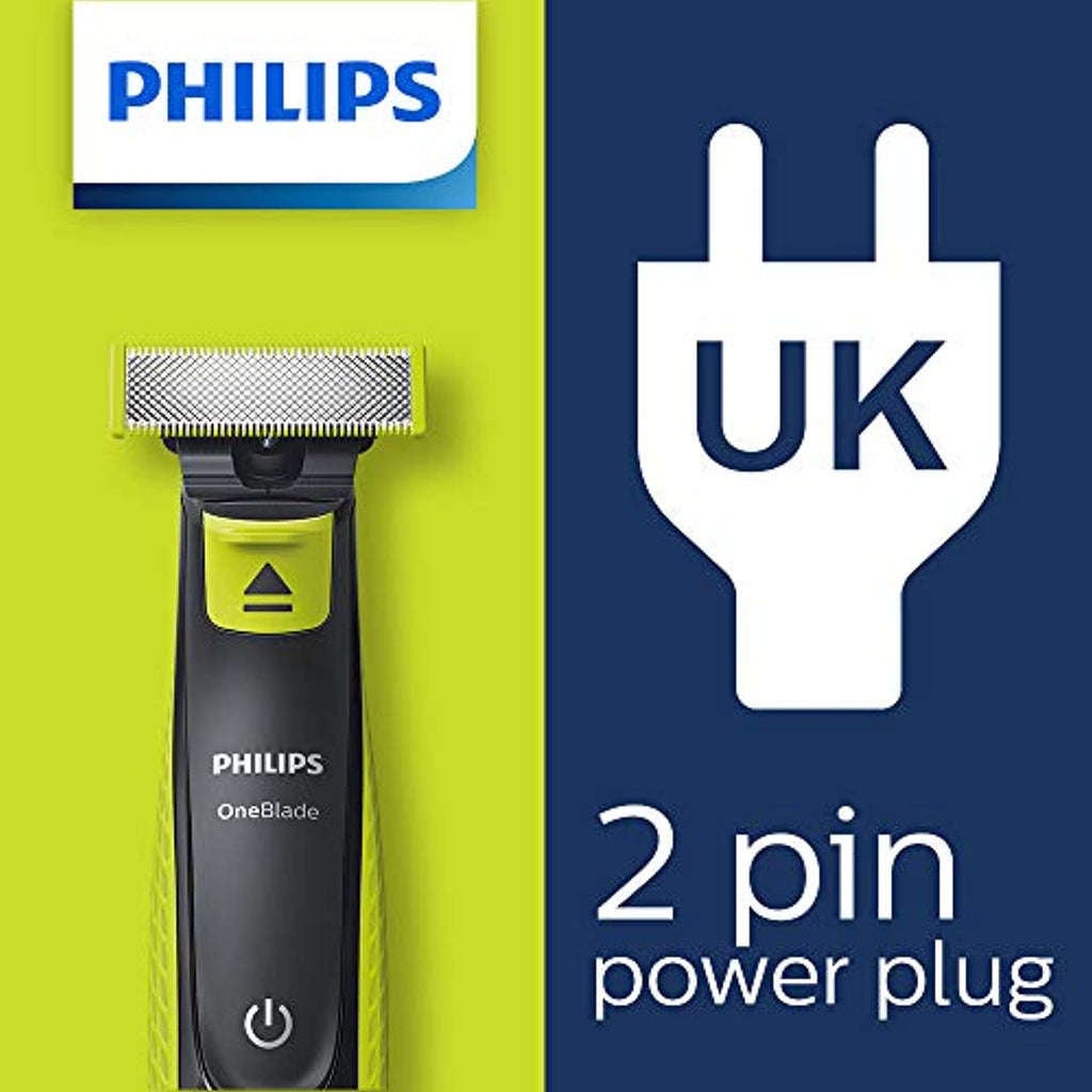 Philips OneBlade Hybrid Stubble Trimmer and Shaver - smrt-life.com